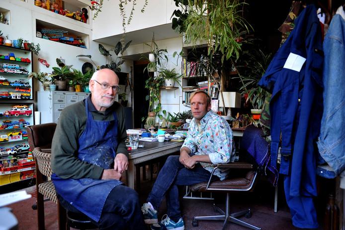 Henk van Dalen (links) en Erik Sep. ,,We staan hier zelfs geregistreerd!''
