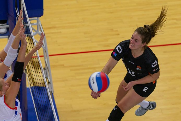 Siska Hoekstra merkte dat het verschil tussen Zwolle en Sliedrecht Sport flink was.