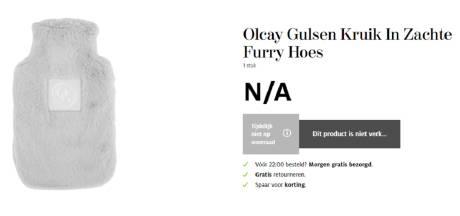 Etos roept Olcay Gulsen-kruik terug: kruik kan scheuren, risico op brandwonden