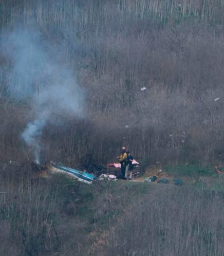 Audiofragment over helikoptercrash Bryant: 'Je vliegt te laag'