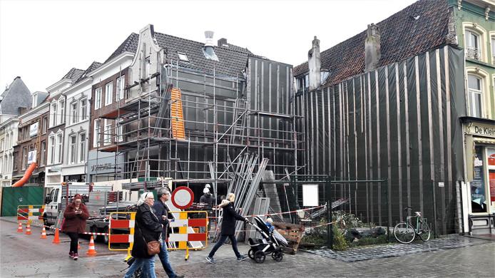 Het herstel van de Febo in Den Bosch is eindelijk van start gegaan.