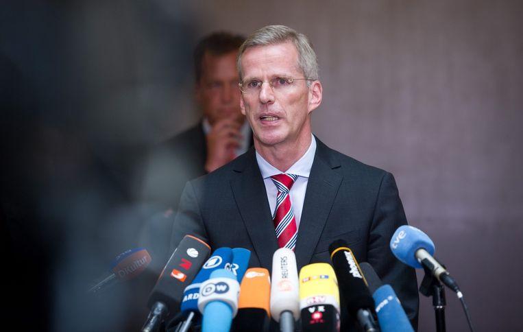 Clemens Binninger Beeld epa