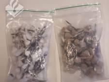 Drugsdealer in Oss heeft ruim 130 bolletjes cocaïne en heroïne bij zich, politie grijpt in