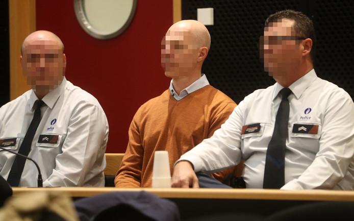 Jean-Gabriel Matterne, devant la cour d'assises de Mons