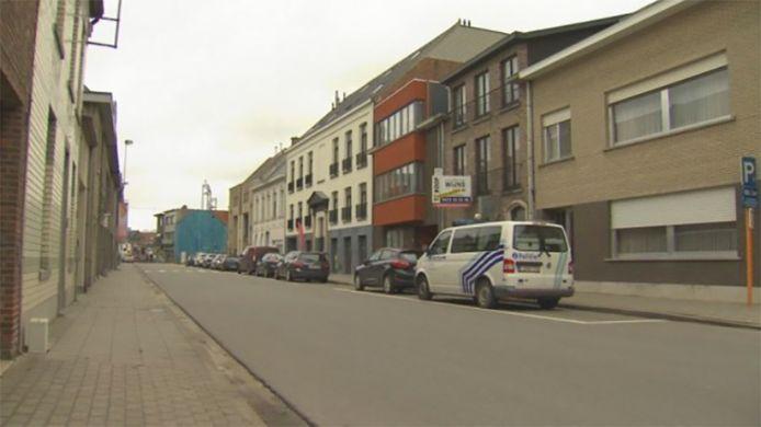 De Lemanstraat in Sint-Katelijne Waver waar de feiten plaatsvonden.