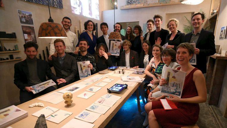 Architectencollectief Assemble viert zijn overwinning Beeld reuters