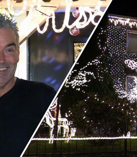Kerstvibes! Mark fleurt de hele boel op met zijn kersthuis