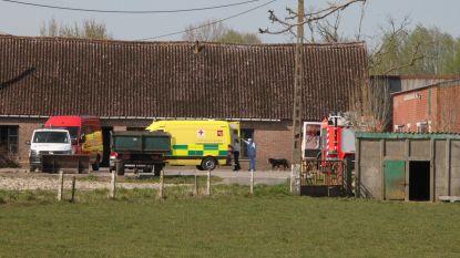 Landbouwer (92) naar ziekenhuis na CO-intoxicatie in onbewoonbare hoeve