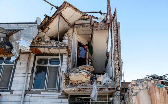 Archiefbeeld: in november 2017 werd dezelfde regio van Iran eveneens getroffen door een zware aardbeving waarbij honderden mensen omkwamen.