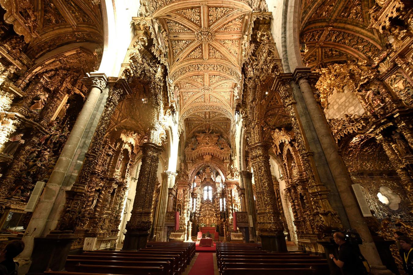 Het bezoek aan de Sao Francisco kerk .