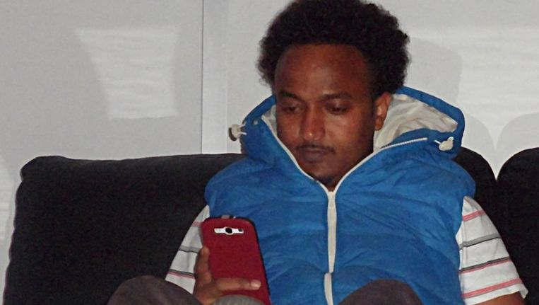 Abdiraham Hoessein, vlak voor zijn dood op 7 september 2013. Beeld Opsporing Verzocht