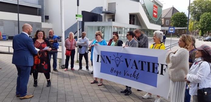 Eerder dit jaar gingen bewoners van de Hoge Vucht nog naar het stadskantoor van Breda om een beroep te doen op het stadsbestuur.