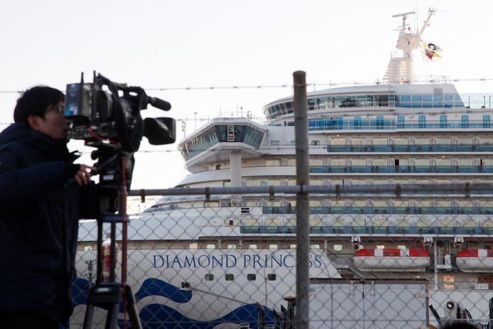 Le Diamond Princess est immobilisé près de Yokohama, dans la banlieue de Tokyo.