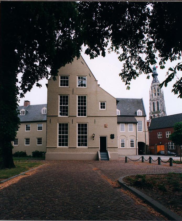 Het Huis van Brecht  in het centrum van Breda.
