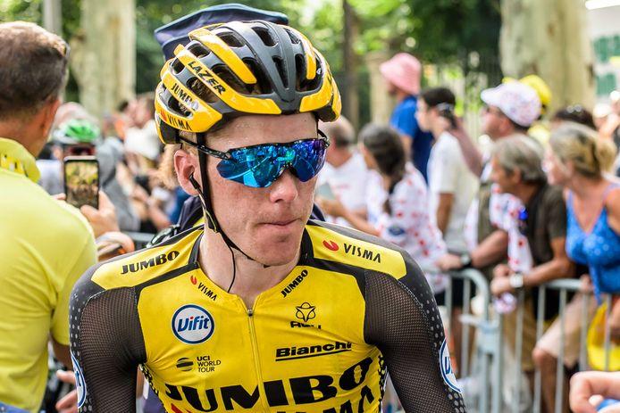 Steven Kruijswijk is nog volop in de race om de Tour te winnen. Volgende week staat hij aan de start van de Acht van Chaam.