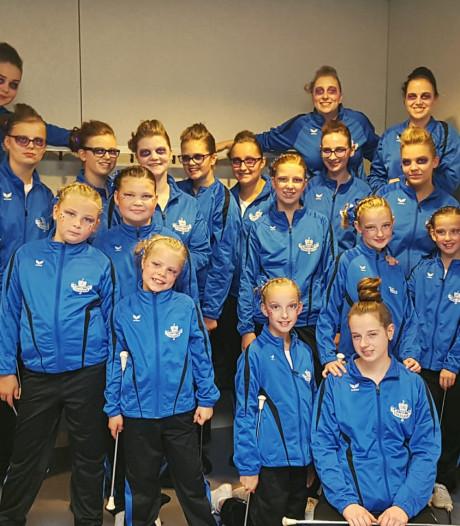 Twirlteams Excelsior Losser naar Nederlands kampioenschap