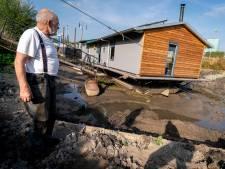 Water in de Rijn staat lager dan ooit