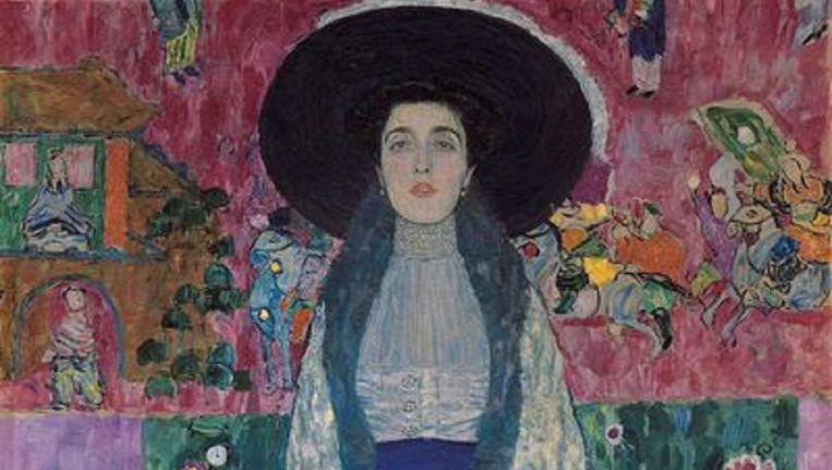 Portret van Adele Bloch-Bauer II dat door Oprah Winfrey is verkocht. Beeld getty