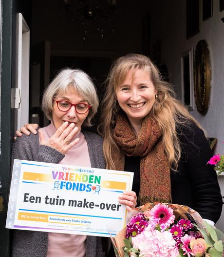 VriendenLoterij geeft Terneuzense collectevrijwilligster nieuwe tuin