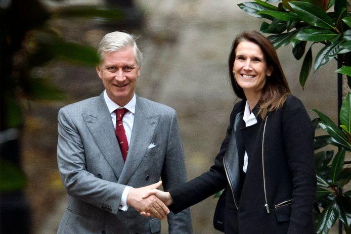 Eerste minister Sophie Wilmès kwam langs voor de MR.