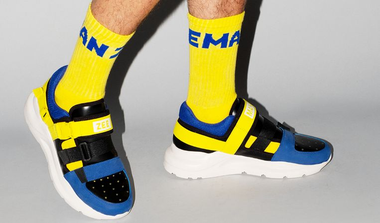De Hybrid Z sneaker.