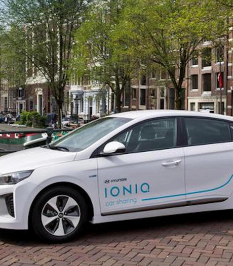 Hyundai stopt proef met Amsterdamse deelauto's
