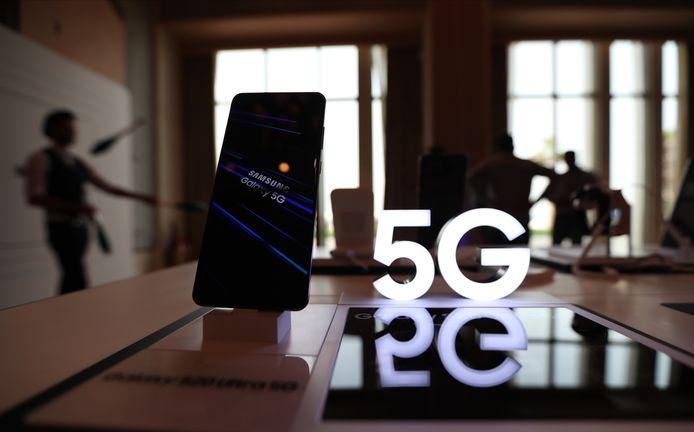 De Samsung Galaxy S20.
