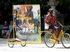 Avant le départ du Tour de France, Bruxelles va se vêtir de jaune à l'occasion d'une grande balade à vélo