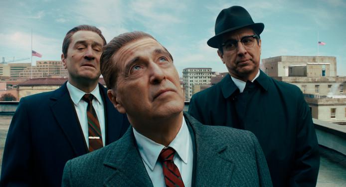 Van links naar rechts: Robert De Niro, Al Pacino en Ray Romano.