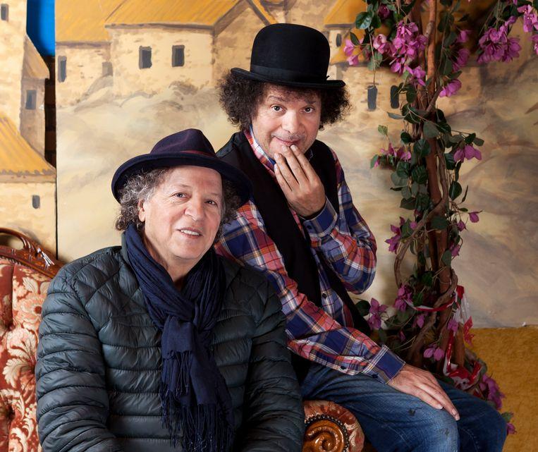 De broers Karim en Hakim Traïdia van Circus Hakim. Beeld Martijn Gijsbertsen