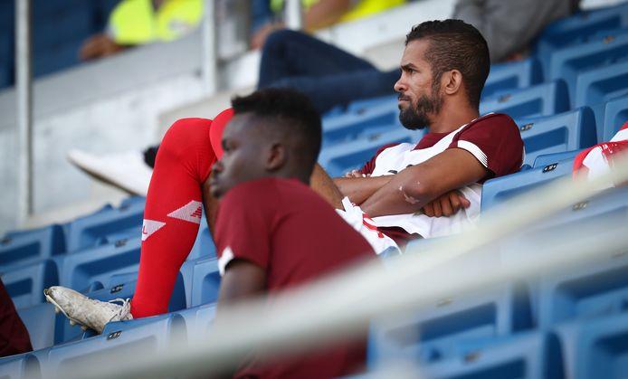 Carcela kwam ook vorige speeldag niet in actie tegen Waasland-Beveren.