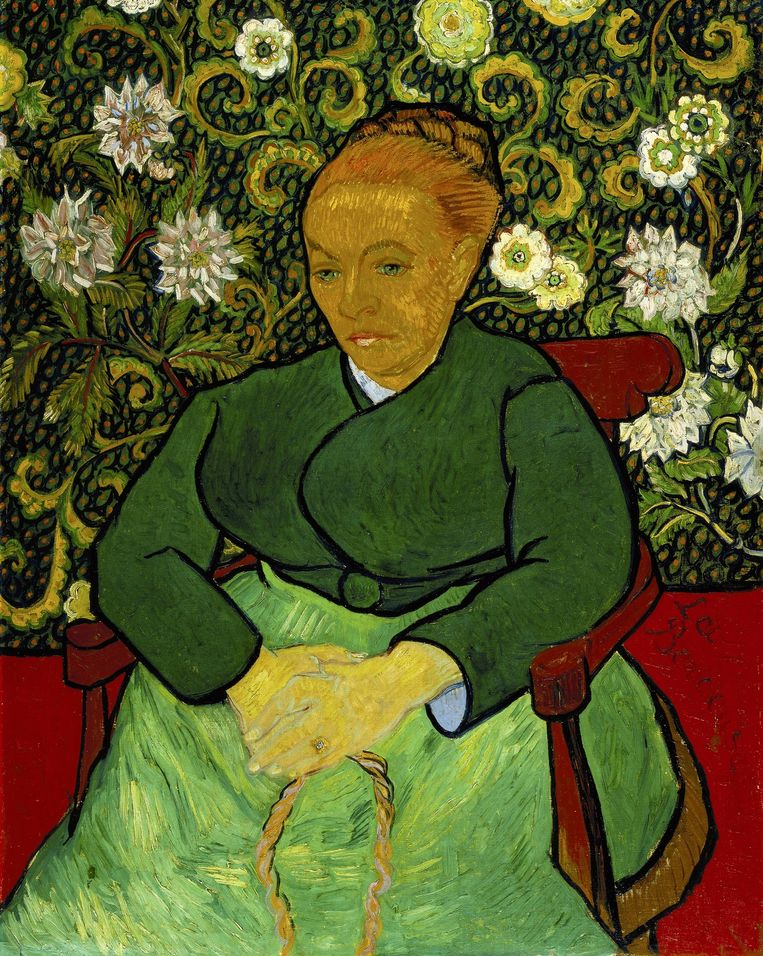 Vincent van Gogh, La Berceuse, 1889. Beeld Collectie Kröller-Müller Museum, Otterloo