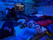 Publiek valt in slaap tijdens concert in de Spoorzone