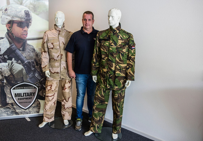 Eric Hendriks van Safety Masters in Helmond.