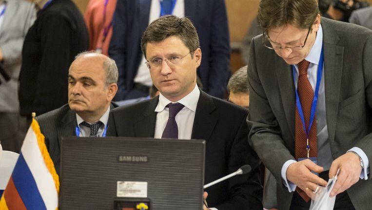 De Russische minister Novak van Energie. Beeld reuters