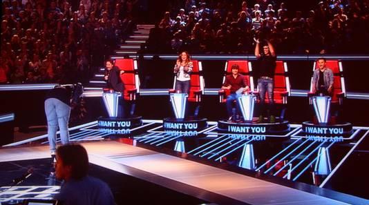 De jury van The Voice blijft enthousiast over nieuw talent