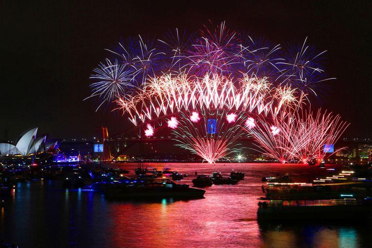 Beste vuurwerkshow in de haven van Sydney Beeld City of Sydney