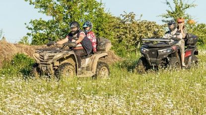 Natuurpunt betrapt quads in natuurgebied Rosdel