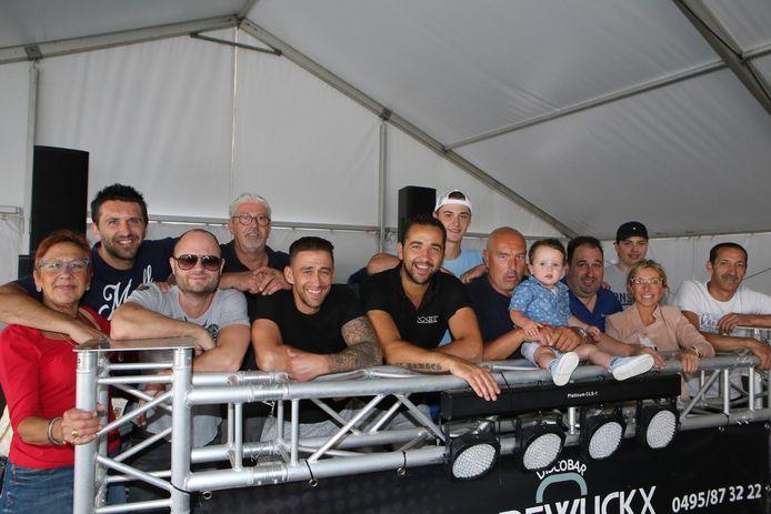 De organisatoren van de Kempioense Feesten tijdens de editie van vorig jaar.