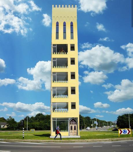 Het Draaiend Kasteel, Tilburg op de maan en andere surrealistische stadstaferelen: dit is Tilburg Topia