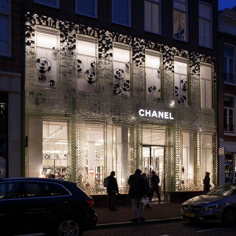 De Chanelwinkel in de P.C. Hooftstraat Beeld Carly Wollaert
