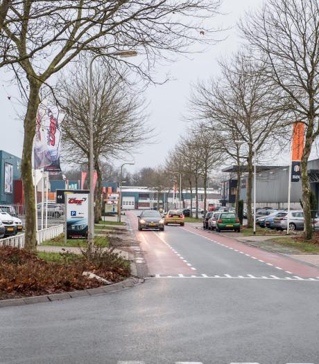 Toegang Nijverdalse bedrijvenpark 't Lochter even dicht bij Boomcateweg