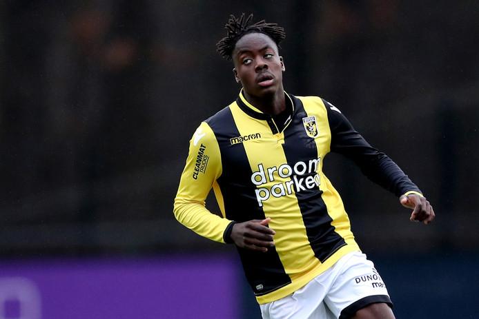 Richie Musaba kwam er niet aan te pas met Jong Vitesse