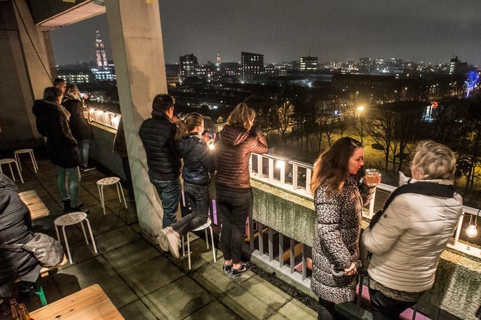 Tijdens de Cultuurnacht begin dit jaar kon het publiek ook al een kijkje nemen in het oude belastingkantoor
