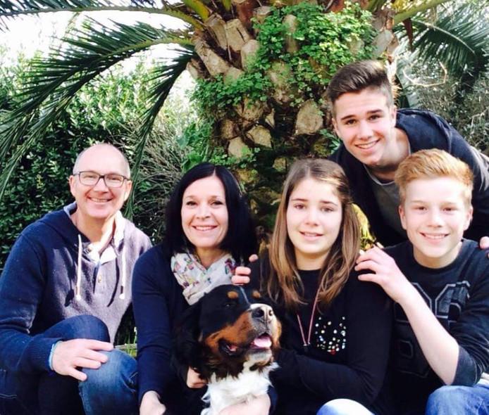 De familie Janssen is verzot op Italië.