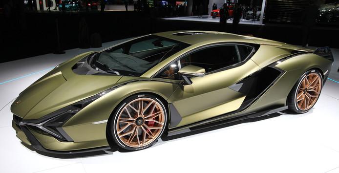 Lamborghini Sian FKP 37 hybride