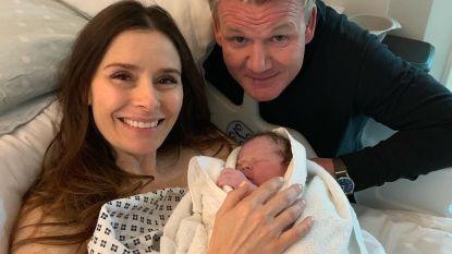 Chef Gordon Ramsay verwelkomt vijfde kind