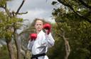 Timothy Petersen wil de primeur van karate op de Spelen als deelnemer meemaken.