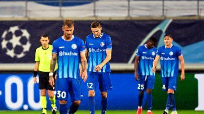Champions League heel ver weg voor veel te mak AA Gent na pijnlijke avond