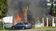 Vermoedelijke brandstichter loopt met jerrycan recht in handen politie